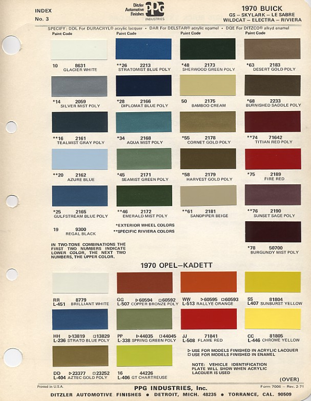 2014 Gm Group Paint And Color Codes Autos Post